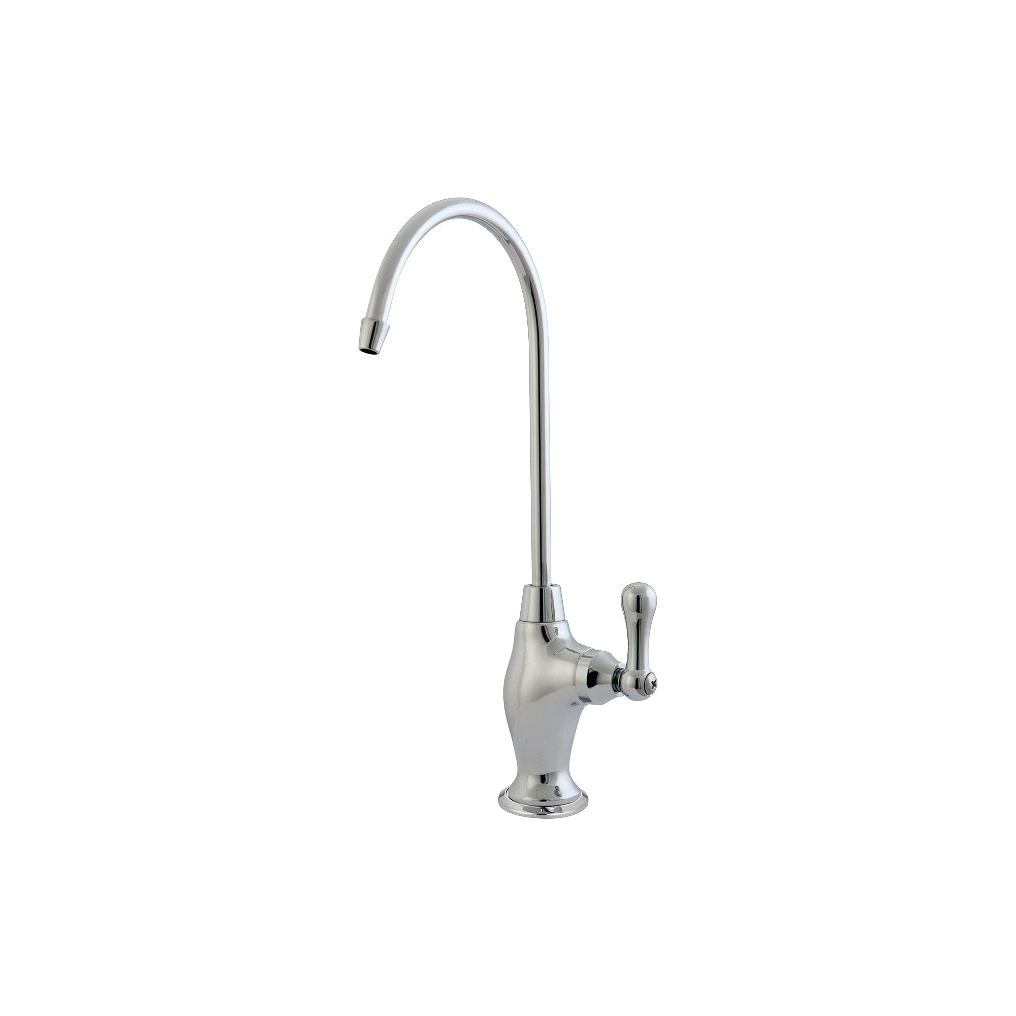 Restoration Water Filter Kitchen Faucet Chrome - Kingston Brass