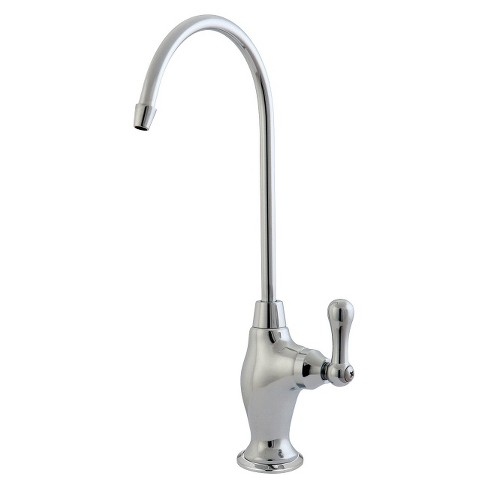 Restoration Water Filter Kitchen Faucet Chrome - Kingston Brass - image 1 of 2
