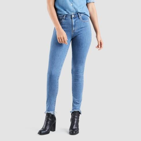 Levi's® 721™ High Rise Skinny Jeans Fit Damen Rinsed Denim