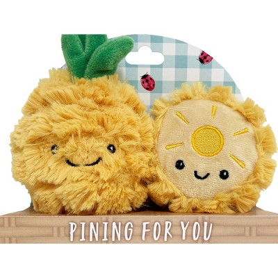Purely Luxe Pineapple Rattle & Crinkle Set