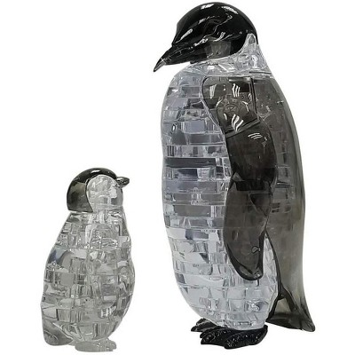 University Games Penguin and Baby 43 Piece 3D Crystal Jigsaw Puzzle