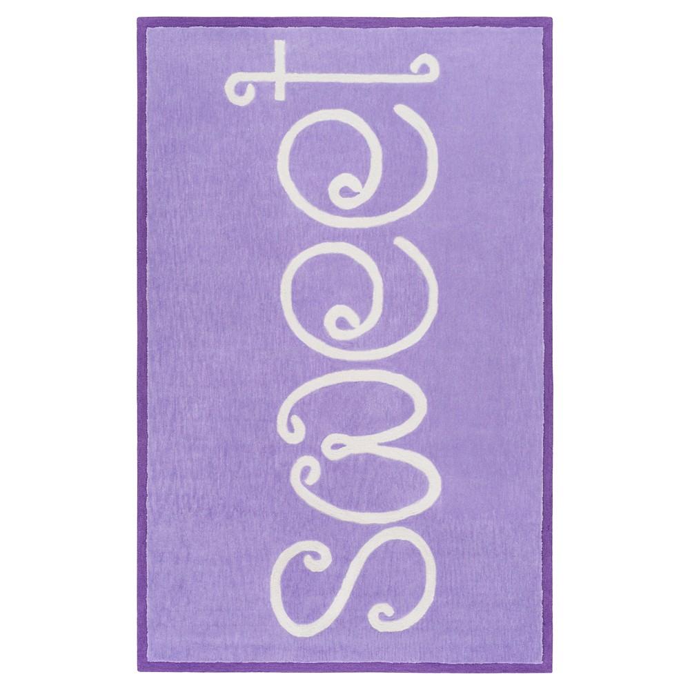 Marietta Kid's Rug 5'x7'6 Bright Purple - Surya