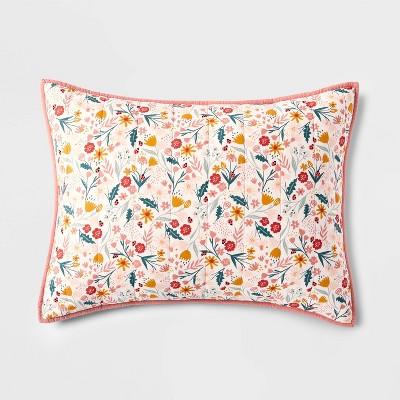 Floral Cotton Sham - Pillowfort™