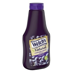 Welch's Natural Concord Grape Spread - 18oz