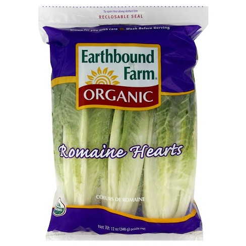 Organic Romaine Hearts - 3ct Bag - image 1 of 1