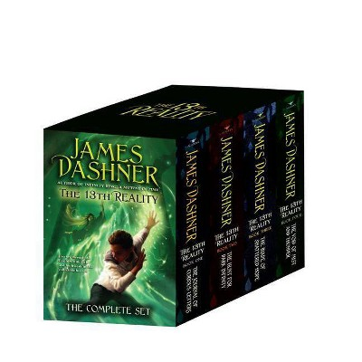 The 13th Reality Boxed Set - by  James Dashner (Paperback)