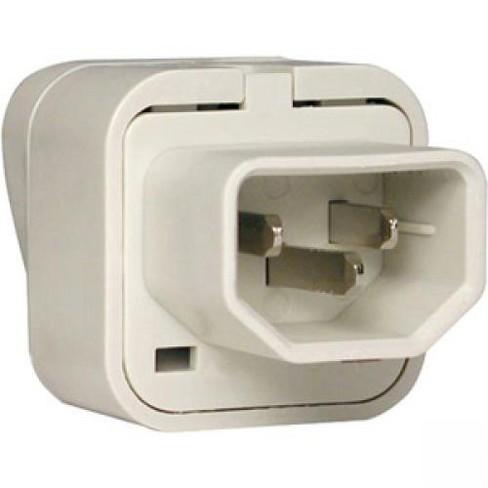 Tripp Lite UNIPLUGINT Power Plug - IEC 60320 C14 - image 1 of 1