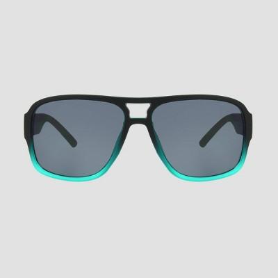 Boys' Square Sunglasses- Cat & Jack™ Teal