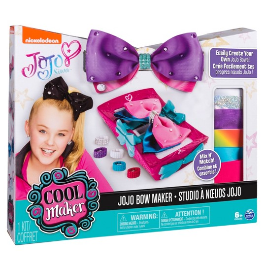 Cool Maker JoJo Siwa Bow Maker Activity Kit image number null