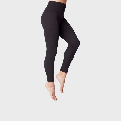 Women's High-Waist Seamless French Terry Leggings - A New Day™