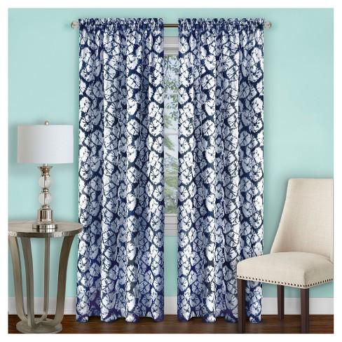 Batik Window Curtain Panel - Achim - image 1 of 2