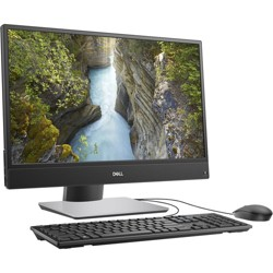 Dell OptiPlex 5000 5270 All-in-One Computer - Intel Core i5 9th Gen i5-9500 3 GHz - 8 GB RAM DDR4 SDRAM - 256 GB SSD