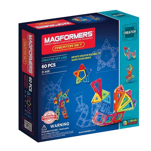 Magformers Creator 60 PC Set - image 1 of 5