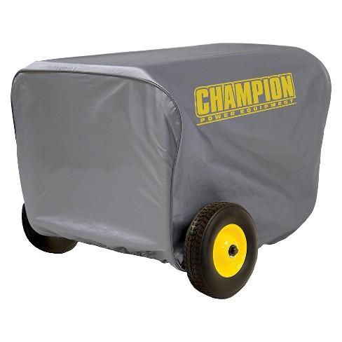 Large Generator Vinyl Cover - Gray - Champion Power - image 1 of 1