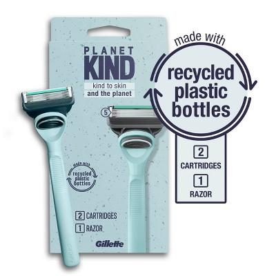 Planet KIND by Gillette 5-Blade Razor + 2 Razor Blade Refills