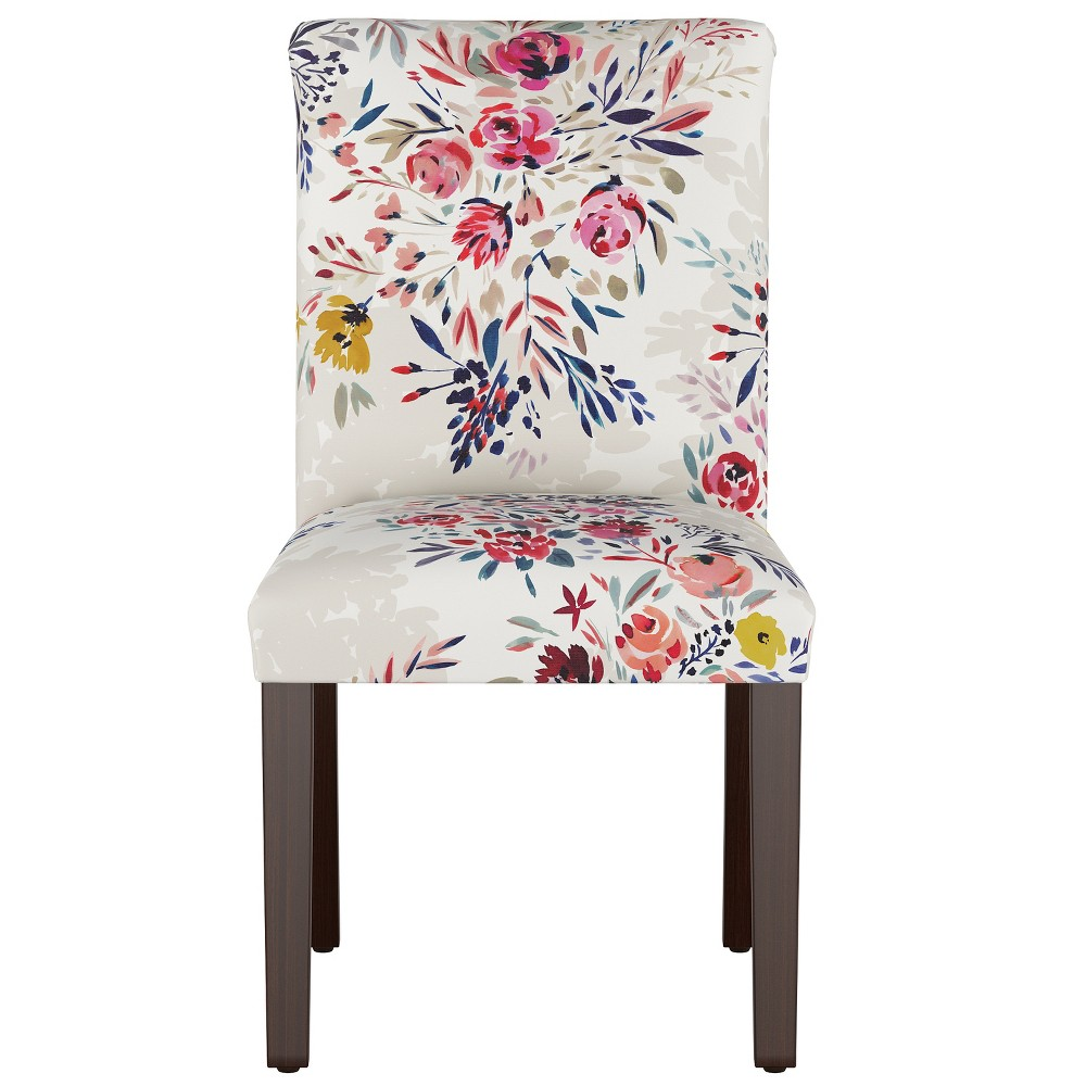 Hendrix Dining Chair with Espresso Legs Multi Floral - Cloth & Co.