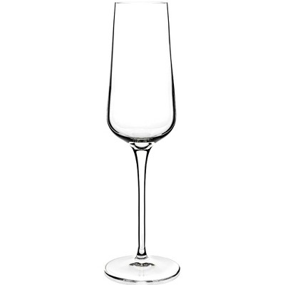 Luigi Bormioli Intenso 8.25 Ounce Champagne Flute Glass, Set of 6