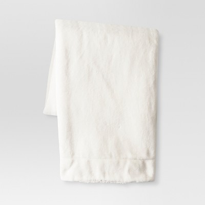 Cream Solid Throw Blankets 50 X60  - Threshold™