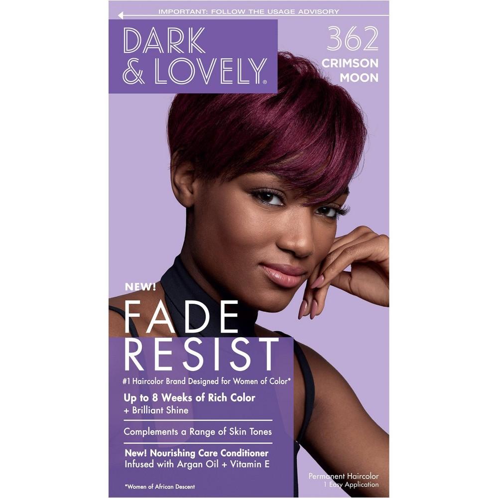 Image of Dark & Lovely Fade Resist Permanent Hair Color - 362 Crimson Moon