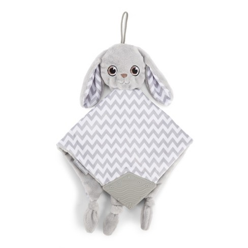 BooginHead PaciPal & Teether Blanket Pacifier Holder - Floppy the Bunny - image 1 of 4