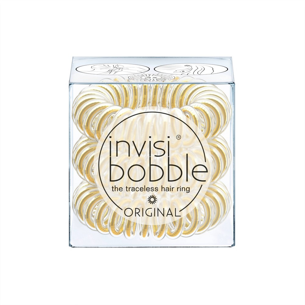 Image of Invisibobble Original Hair Elastics - You're Golden