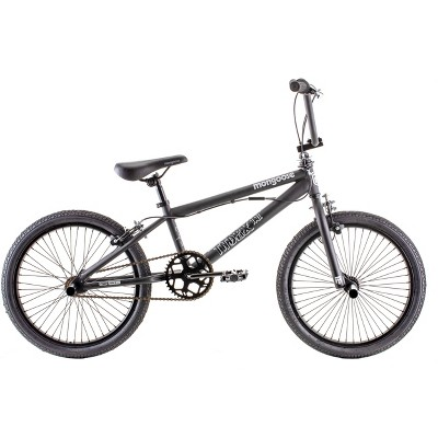 "Mongoose Index 1.0 20"" Freestyle Bike - Black"