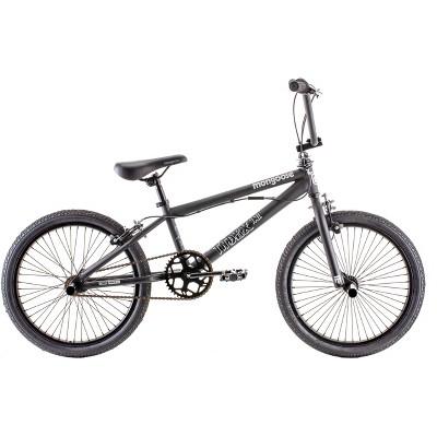"""Mongoose Index 1.0 20"""" Freestyle Bike - Black"""