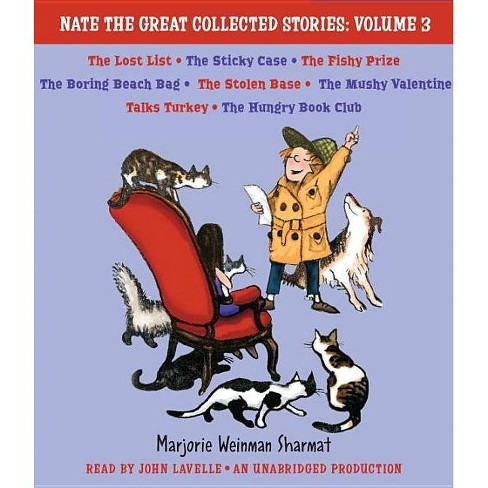 Nate the Great Collected Stories, Volume 3 - (Nate the Great Detective Stories)by  Mitchell Sharmat - image 1 of 1