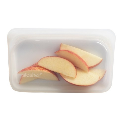 Stasher Reusable Clear Food Storage Snack Bag (Colors May Vary) - image 1 of 4