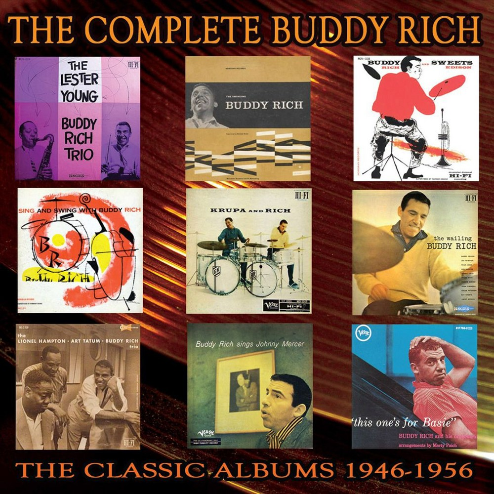 Buddy Rich - Complete Buddy Rich:1946-1956 (CD)