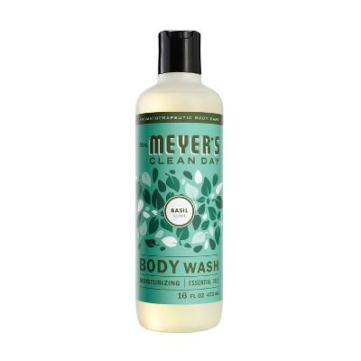 Mrs. Meyer's Clean Day Body Wash Basil Scent - 16oz Bottle