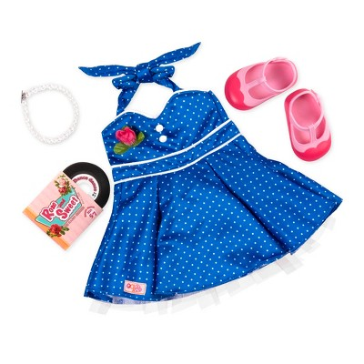 "Our Generation Fashion Outfit for 18"" Dolls - Dance Party (Retro Collection)"