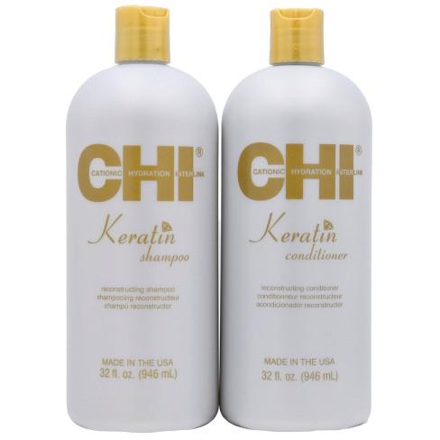 CHI Keratin Shampoo Conditioner - 2pk/32 fl oz Each - image 1 of 3