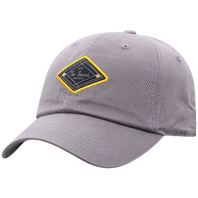 NCAA Long Beach State 49ers Men's Gray Washed Relaxed Fit Hat