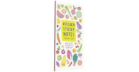 Kitchen Sticky Notes + To-Do Lists : 250 Notes to Keep You Organized (Stationery) - image 1 of 1