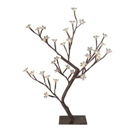 "PENN 20"" Prelit LED Cherry Blossom Flower Tree - Color Changing Lights - image 1 of 4"