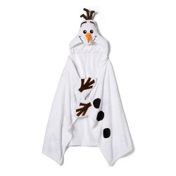 "Frozen 2 Olaf 30""x50"" Toddler Hooded Blanket - Disney store"