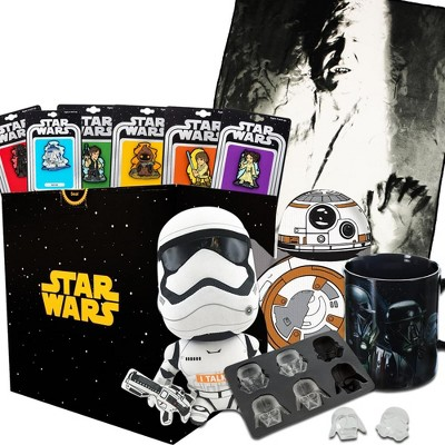 Toynk Star Wars Collectibles LookSee Collectors Box | Han Solo Blanket and Pins