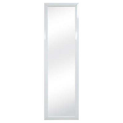 Superbe Over The Door Mirror White   Room Essentials™ : Target