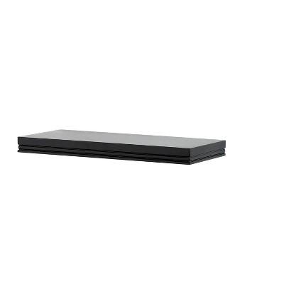Modern Wall Shelf Small - Black