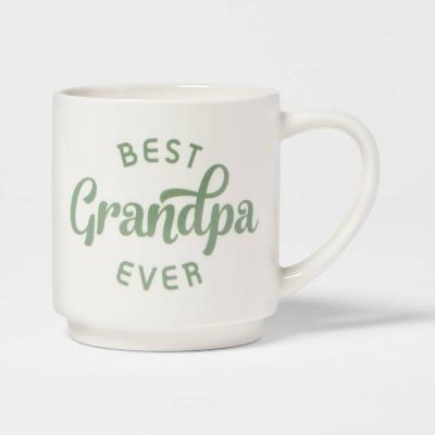 16oz Stoneware Best Grandpa Ever Mug - Room Essentials™