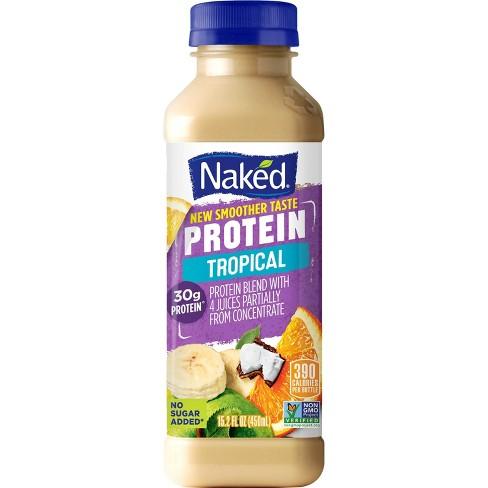 Naked Protein Zone Protein Juice Smoothie - 15.2oz - image 1 of 4