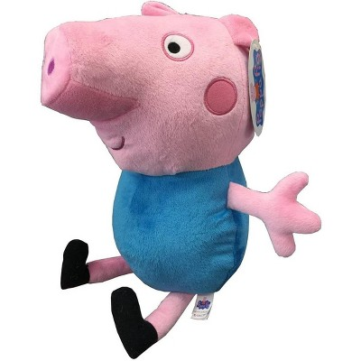 Fiesta Peppa Pig George 17.5 Inch Character Plush