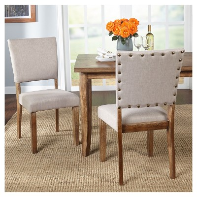 Charmant Provence Dining Chair (Set Of 2)   Driftwood   Target Marketing Systems