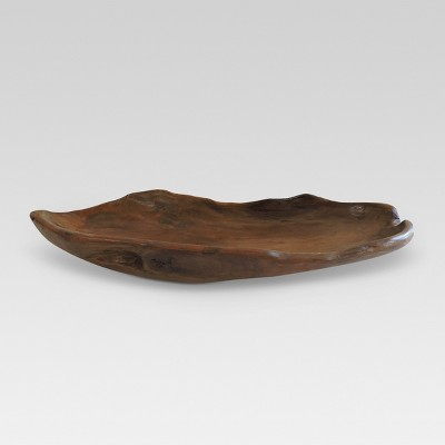 Live Edge Wood Tray - Threshold™