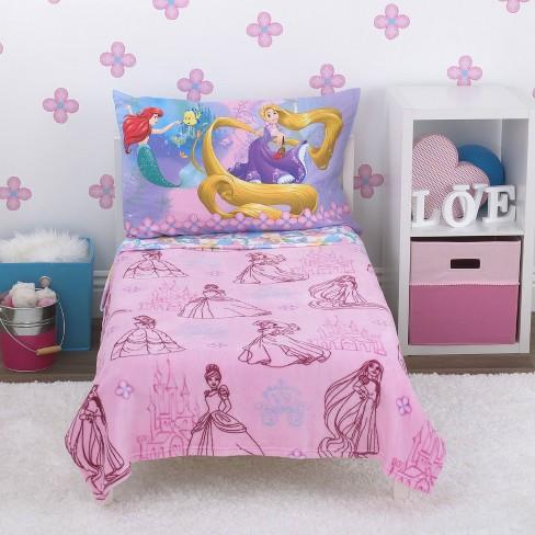 best service 6d867 19dc2 Disney Princess Toddler Bedding Set - 4pc
