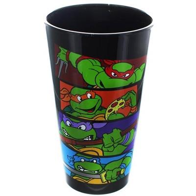 """Just Funky Teenage Mutant Ninja Turtles """"Bars"""" 16oz Pint Glass"""