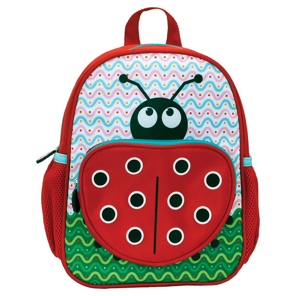 "Image of ""Rockland 12.5"""" Junior My First Kids' Backpack - Lady Bug, Girl's, Size: Small"""