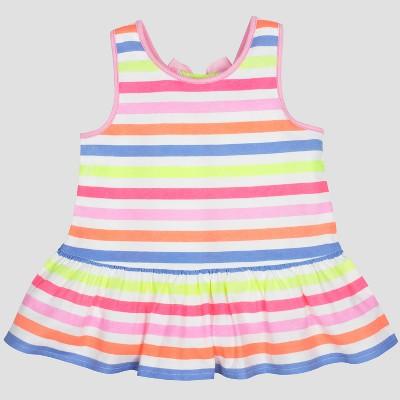 Gerber® Graduates® Baby Girls' Stripe Tunic - White 3T
