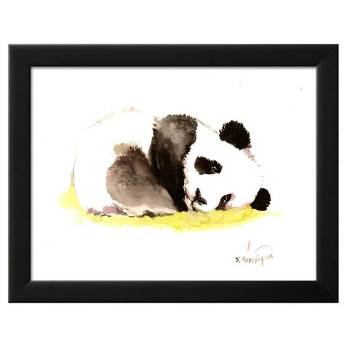 Sleeping Baby Panda Framed Art Print - image 1 of 3